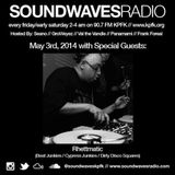 RHETTMATIC'S JB TRIBUTE MIX ON SOUNDWAVES RADIO - 90.7FM - KPFK (MAY 3, 2014)