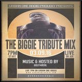 The Notorious BIG 19th Anniversary Tribute Mix live on @UrbanOneRadio (March 9th,2016)
