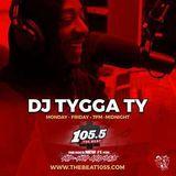 DJ TYGGA TY INTERVIEW W DAMAR JACKSON ON 1055 THE BEAT