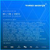 Chris Liebing & Len Faki - live @ Time Warp 2015  Mannheim 06.04.2015