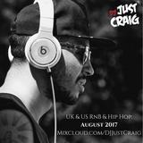 UK & US RnB & Hip Hop: August 2017