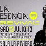 Esencia Revival @ La Riviera (Madrid, CD Regalo, 13-07-13)