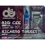 Ricardo Torres Recorded Live at DeepUnder133Live (5/4/18)