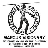 Marcus Visionary - The Visionary Mix Show 062 - Kool London - Fri Sept 7th 2018