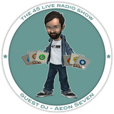 45 Live Radio Show pt. 24 with guest DJ AEON SEVEN presents 'Love Beams Defender'