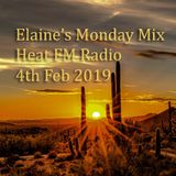 Elaine's Monday Mix 4th Feb 2019 Heat FM Radio New York