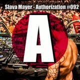 Slava Mayer - Authorization #092 (Deep Vocal Mix)