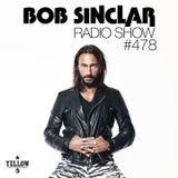 Bob Sinclar - Radio Show #478