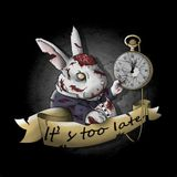 Techno is Where the White Rabbit is!