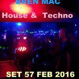 HOUSE & TECHNO  (57) 2016