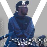 09/08/2018 - Misundastood B2B Scope W/ Rolla, Micofcourse, Collistar & Agz - Mode FM