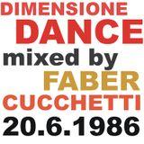 DIMENSIONE DANCE by Faber Cucchetti: 20.6.1986