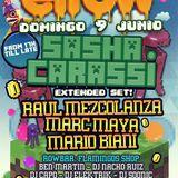 Sasha Carassi - Live @ Row 14 Barcelona (Spain) 2013.06.09.