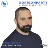 "Dj FAKE PLASTIC set ""GORRION Party X ANIVERSARIO @ MOSS Club - Murcia (Spain) 15.10.16 """