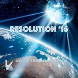DJ Benson Wilder - Resolution ' 16 -  (Live 1.1.16)