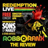 Bob Marley 70th Celebration - Redemption Live review