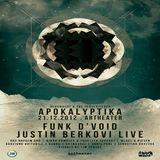 Justin Berkovi (Live PA) @ Apokalyptika - Artheater Köln - 21.12.2012