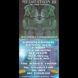 Grooverider + MC Navigator @ Meditation 3, Walzmuehle, Ludwigshafen (16.03.1996)