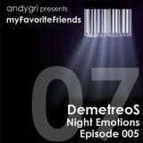 DemetreoS - Night Emotions - Episode 005