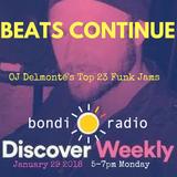 Beats Continue - OJ Delmonté's Top 23 Funk Jams - Jan 29 2018