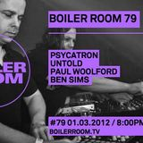 Ben Sims - Live @ Boiler Room 079 (London,UK), 01-03-2012