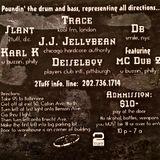 DJ Trace w/ MC Dub2 , Ryme Tyme & Gunsmoke - Live at Absolutely Tearin' - September 1995