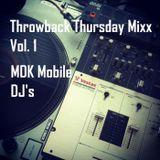 Throwback Thursday Mixx Vol. 1