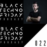 Black TECHNO Friday Podcast #022 by The Reactivitz (Phobiq/Immersion)