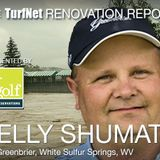 Renovation Report: Kelly Shumate and the rebuilding/renovation of The Greenbrier