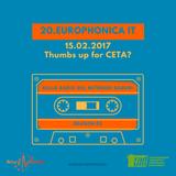 Thumbs up for CETA? Quale il futuro dell'UE? 15.02.2017