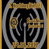 Nico Osburg (Set 2.2) - Live at FreakShow Broadcast Vol. 11 (24.06.2017 @ Mixlr)