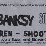 Tom + Banksy (Smokescreen), deep cartel @ the casbar, exeter, Feb 2002