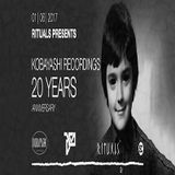Al Ferox @ Rituals Pres. Kobayashi Rec. 20 Years Anniversary - Suicide Circus Berlin - 01.06.2017