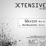 Xtensive Ep.043 ft. DJ Glezzverg guestmix - June 11th, 2012