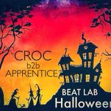 BEAT LAB HALLOWEEN #1 CROC b2b APPRENTICE (+ HOST DNC)