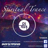 DJ 4x4 Presents Spiritual Trance Radioshow 097 03-03-17