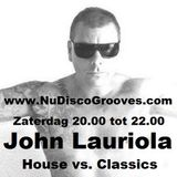 John lauriola - House vs. Classics - I love the 80's (11-04-2015) part 1