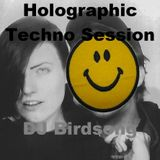 Holographic Techno Session