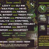 Raiden b2b Noisia - Renegade Hardware, Guerrilla Warfare launch party (Apr 1, 2005)