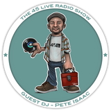 45 Live Radio Show pt. 41 CEO takeover with guest DJ PETE ISAAC