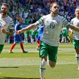 France - Republic of Ireland 1st half starring Petar 'The Cock' Vasilev