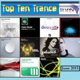 Top Ten Trance June 2015