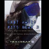 TEXTBEAK - CXB7 RADIO #385 XIAN D