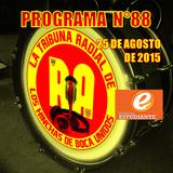 RA. Programa N°88 25-08-2015