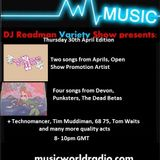 DJ Readman and DJ DC Radio Variety Show: Grandmas Hands, The Dead Betas and many more