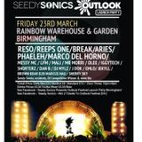 'Seedy Sonics Outlook DJ Competition'