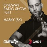 OneWay Music Radio show 041 with Hasky