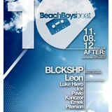 Piterson @ BeachBoys BOAT with BLCKSHP & LEON [Afterparty]