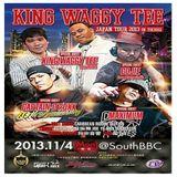 King Waggy Tee Japan Tour - 100% Dubplate Juggling - Toghigi Japan Nov 2013