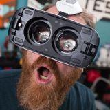 Faire une interview avec un casque de réalité virtuelle c'est rigolo mais c'est...